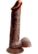 Lifelikes Black Knight Dildo 8 Inch Brown