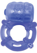 Climax Juicy Rings Cock Ring Waterproof Blue