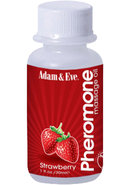 Adam And Eve Pheromone Massage Oil Strawberry 1oz