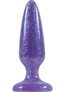 Starlight Gems Booty Boppers Jelly Anal Plugs Small Purple