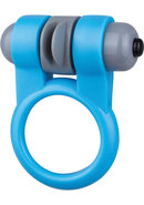 Screaming O Sport Vibrating Cockring Waterproof Blue 6 Each...