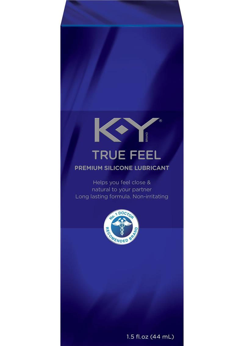 Ky True Feel Silicone 1.5 Oz