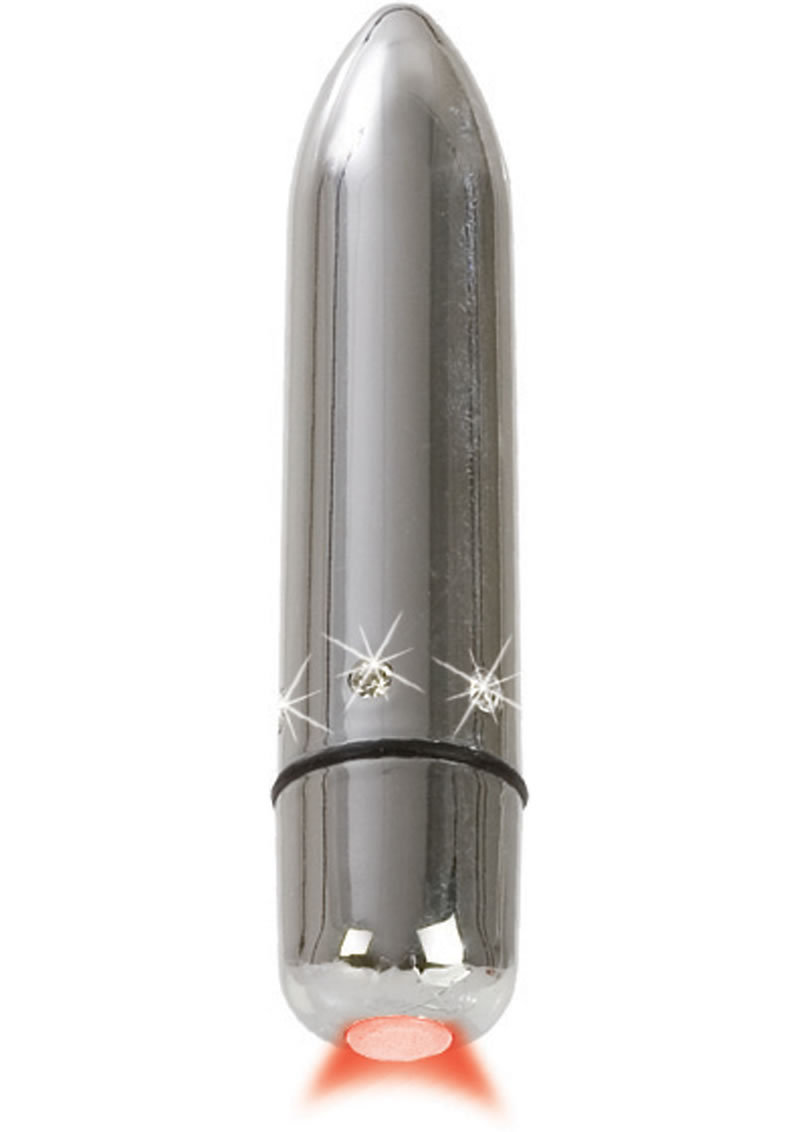 Crystal High Intensity Bullet Waterproof Silver