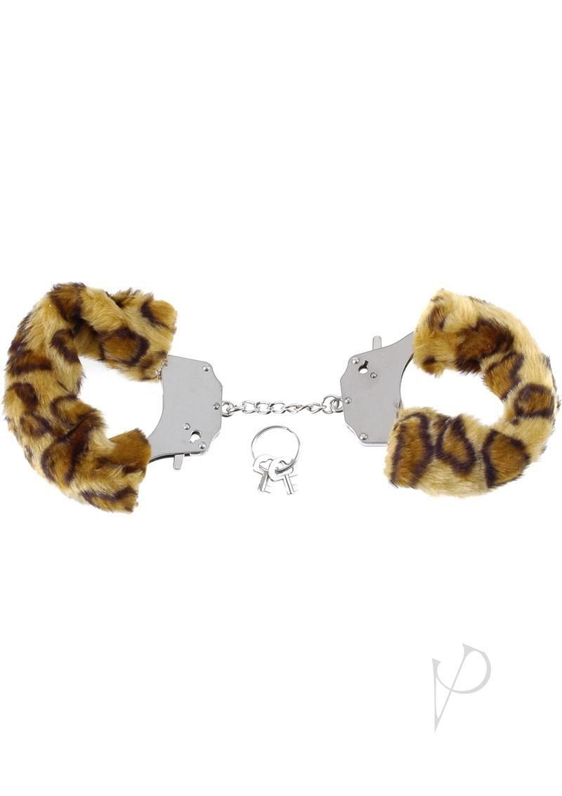 Fetish Fantasy Series Furry Cuffs Cheetah