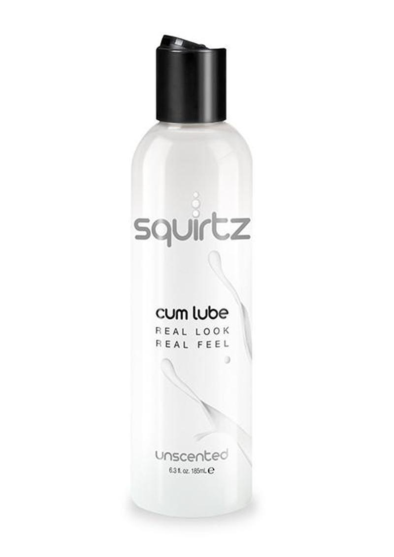 Squirtz Cum Lube Water Base Unscented 6.3 Ounce