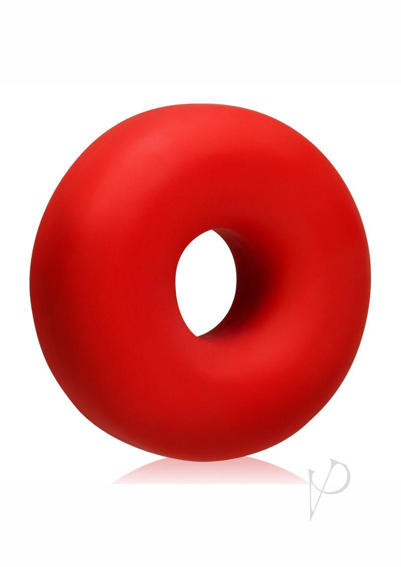 Big Ox Super Mega Stretch Silicone Cock Ring Red Ice