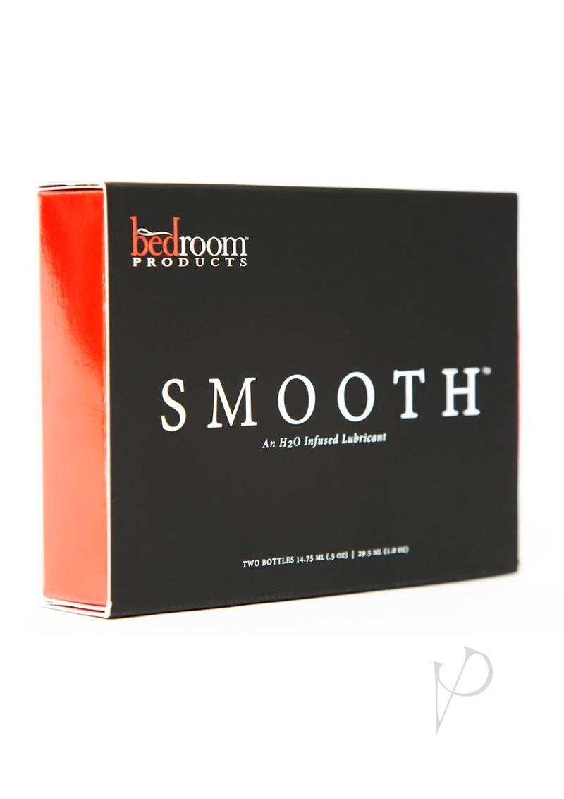Bedroom Products Smooth H2o Infused Lubricant Two .05 Ounce Bottles Per Box